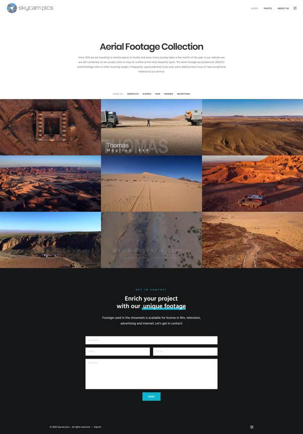 Webdesign aus Karlsruhe für Skycampics