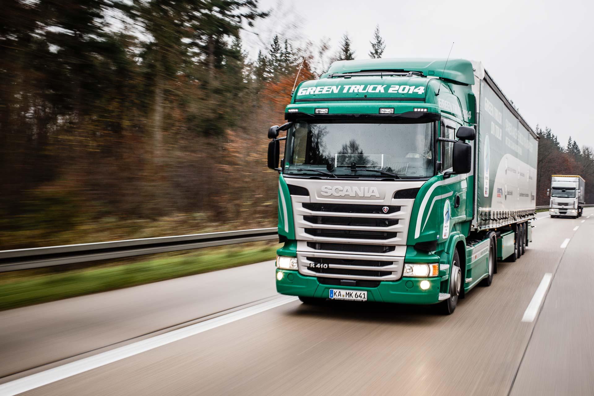 Scania Green Truck 2017